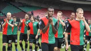 The first goal  to somali player Abdul Salam Ibrahim  with his new club nec-nijmegen-Dutch