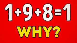 22 MATH PUZZLES WITH ANSWERS TO TEST YOUR LOGIC