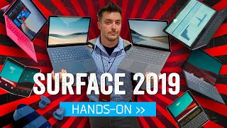 Microsoft Surface 2019: Hands-On With The Future Of Windows (And Android)