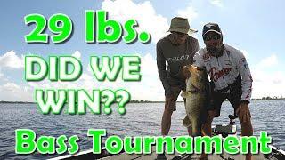 Lake Kissimmee Tournament Bass Fishing - We Caught a GIANT!