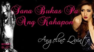 Sana Bukas Pa Ang Kahapon by Angeline Quinto - OST of SBPAK w/ Lyrics HD