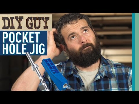 DIY Guy: Pocket Hole Jig
