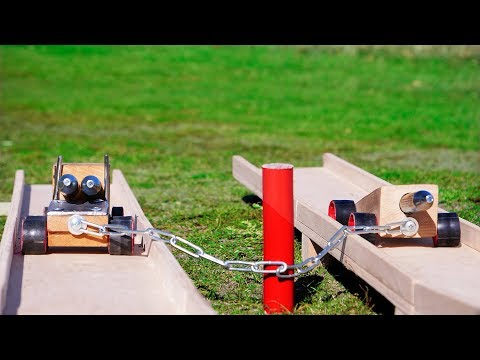 EXPERIMENTS AND CRASH TESTS WITH JET CARS