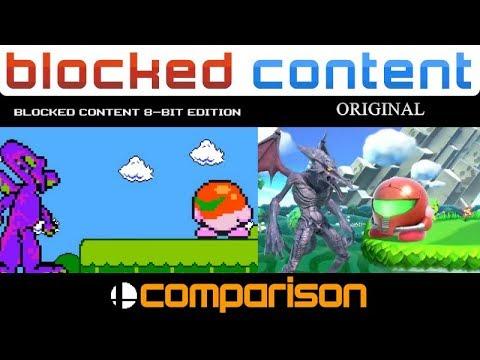 Super Smash Bros  Ultimate Menu 8 Bit Remix - смотреть