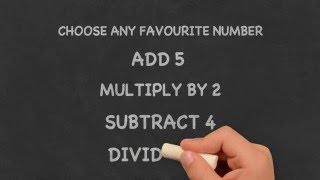 Amazing Math Trick #1 Your answer always will be 3
