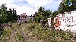 Началось благоустройство бывшего военного госпиталя в центре Великого Новгорода