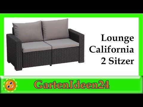 Lounge California Sofa Gartenideen | schöne Gartenmöbel für Deinen Garten