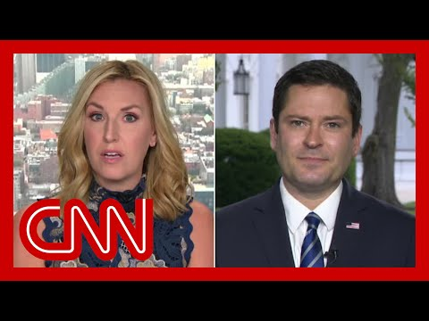 Harlow shuts down WH official: Stop attacking the press or this interview will end