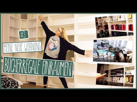 Bücherregale einräumen! | Meine neue Wohnung #3 | VLOG