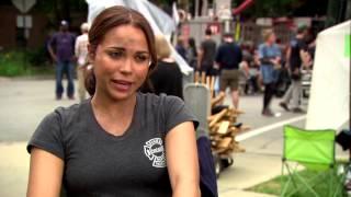 Chicago Fire Season 2: Monica Raymund On Set Interview