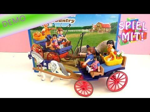 Playmobil Country Ausflug mit Pferdekutsche Demo 5226