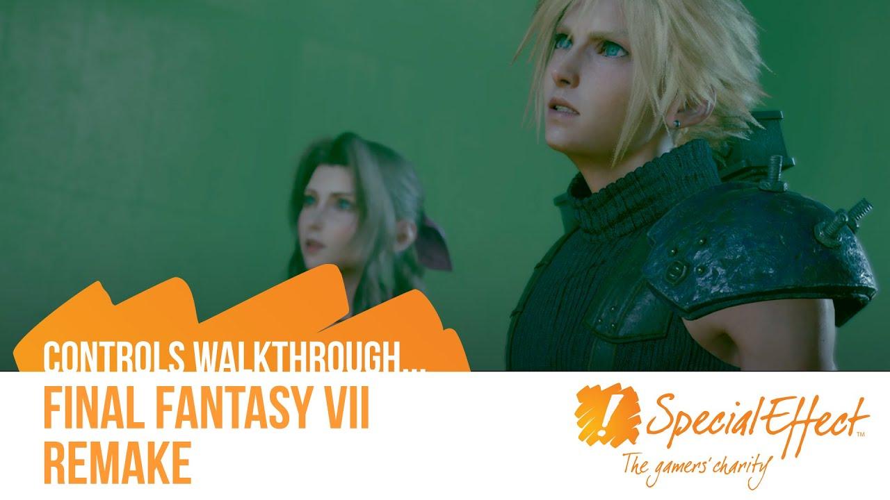 video placeholder for Final Fantasy VII Remake | Controls Walkthrough Video