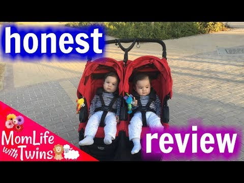 BRITAX B AGILE DOUBLE STROLLER REVIEW 2017 | THE BEST FOR MY TWINS!