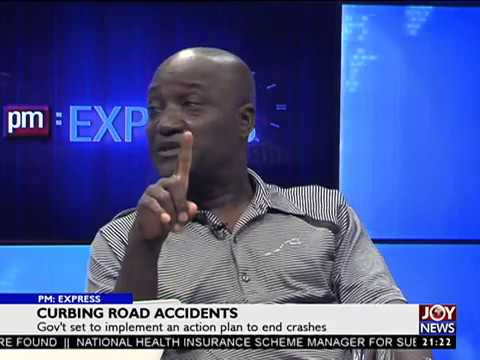 Curbing Road Accidents - PM Express on JoyNews (17-4-18)