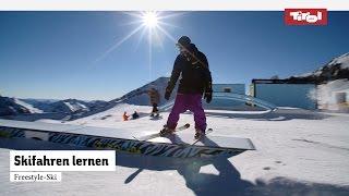 Skifahren lernen: 4 einfache Freestyle Ski Tricks | Skikurs ⛷