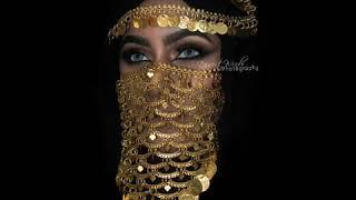 Belly Dance Headwear Designer // Face Jewellery Festival Jewellery Face Mask