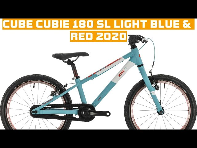 Видео Велосипед Cube Cubie 180 SL lightblue´n´red