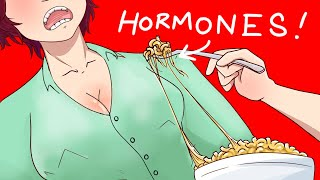 I Added Female Hormon Pills To My Brothers Food | Animated Stories