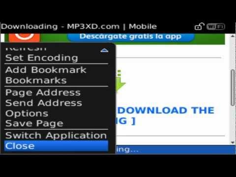 descargar musica mp3 para blackberry 8520
