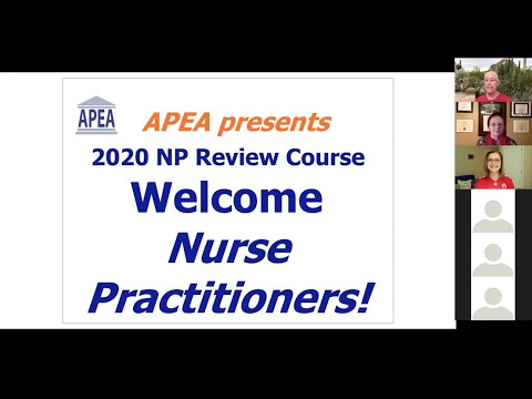 Review Course Q&A With APEA Faculty - Session 1 (Recorded ...
