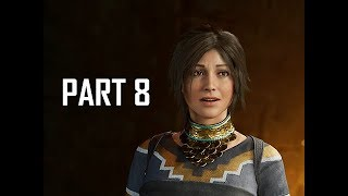 Shadow of the Tomb Raider Walkthrough Part 8 - CRYPT (Let's Play Gameplay Commentary)