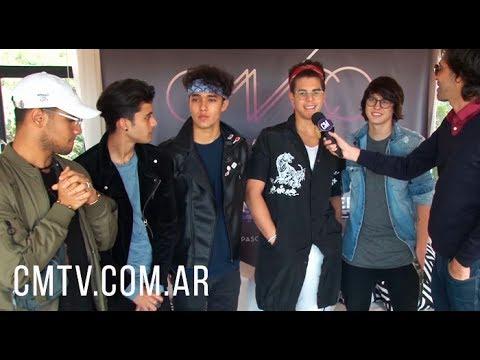 Cnco video Entrevista Luna Park - Argentina | Mayo 2017