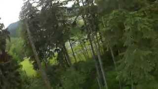 FPV - Through the trees at Kamikaze