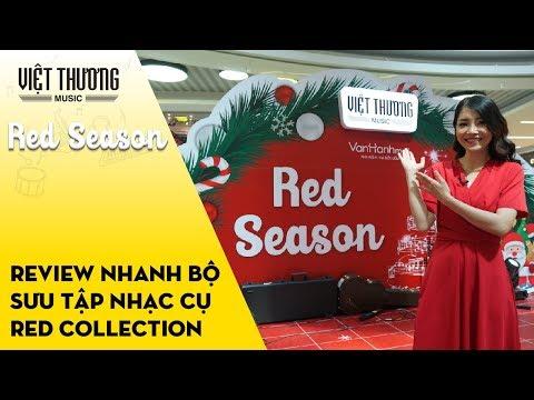 Review nhanh bộ sưu tập nhạc cụ Red Collection tại sự kiện Red Season 2019 // Vạn Hạnh Mall