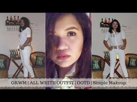 ddf892a67b3 Makeup For All White Outfit