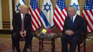 WISE WORDS: President Donald Trump Meets with Prime Minister Benjamin Netanyahu of Israel