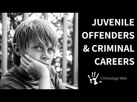 Juvenile Delinquency: Two Types of Criminal Careers - YouTube