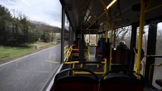 preview picture of video 'Autobus Wien - MAN NL 273 T3 8608 (Linie 38A Wagenwiese - Kahlenberg)'