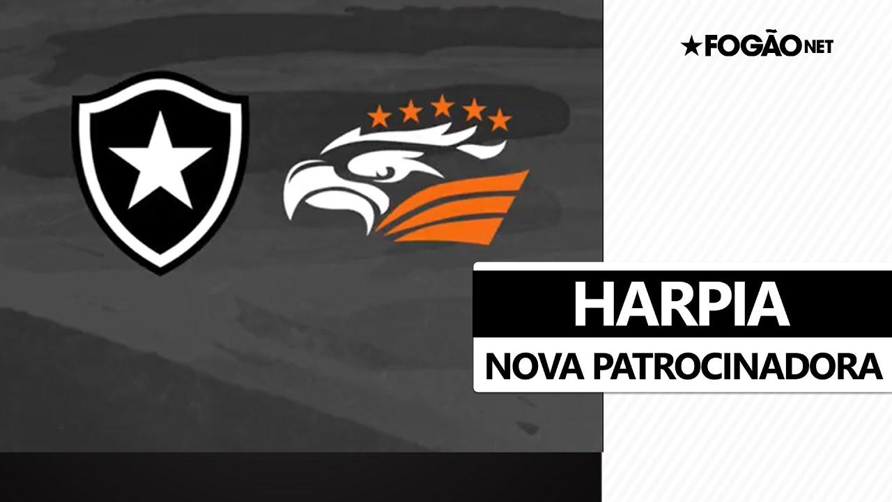 Harpia celebra parceria com Botafogo: 'A maior águia do mundo fechou com o Mais Tradicional' 🦅🔥