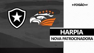 Harpia é a nova patrocinadora do Botafogo: 'A maior águia do mundo fechou com o Mais Tradicional' 🦅🔥