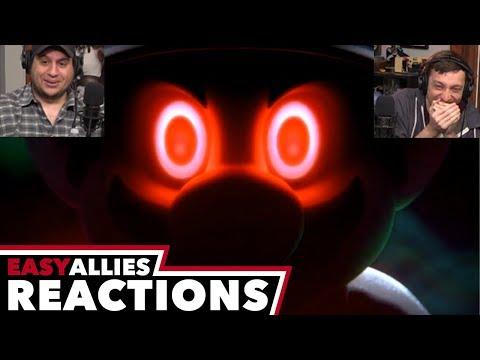 Super Smash Bros. Direct 11.1.2018 - Easy Allies Reactions (видео)