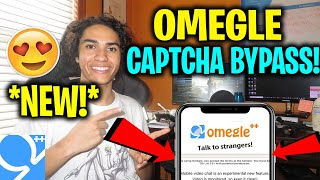 OMEGLE CAPTCHA BYPASS TRICK - How to Fix OMEGLE CAPTCHA EVERY TIME iOS/Android 2020 Tutorial