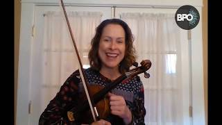 VIOLIN: Three octave scales with Amy Glidden, Advanced