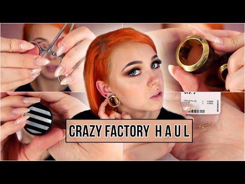 Crazy Factory HAUL I der Piercing Struggle !