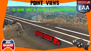 POINT VIEWS... O QUE SÃO? ONDE SE ESCONDEM? COMO FUNCIONAM? - DLC IDAHO - AMERICAN TRUCK SIMULATOR