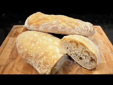 Ciabatta Bread made easy at home