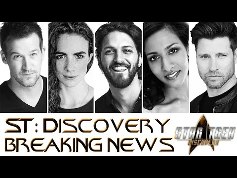 ST: Discovery 5 New Actors Announcement *Breaking News*