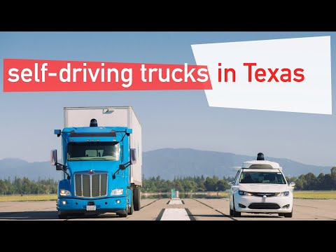 Waymo Lkws in Texas