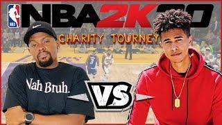 LSK vs iMAV3RIQ In NBA 2K20 Charity Game!