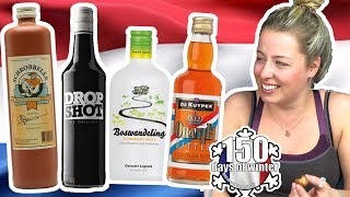 COURCHEVEL SEASONNAIRES TRY DUTCH ALCOHOLS And SNACKS | S2 E09