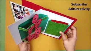 Birthday Cards Handmade For Brother,DIY Greeting Cards For Birthday,Handmade Gift For Birthday Ideas