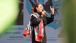 Aksi Menteri Susi Dansa dengan Xanana Gusmao, Diiringi Kaka Slank Nyanyikan 'Pandangan Pertama'