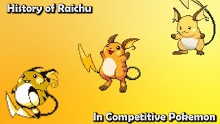 Raichu  - (Pokémon) - How GOOD was Raichu ACTUALLY? - History of Raichu in Competitive Pokemon (Gens 1-6)