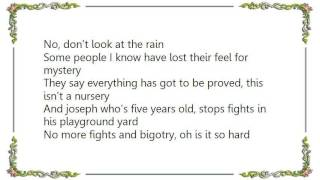 Howard Jones - Don't Always Look at the Rain Lyrics