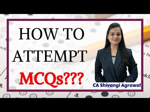 How to Attempt MCQs in Law??? By CA Shivangi Agrawal