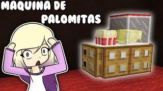 NO CREERÁS ESTA CONSTRUCCIÓN SECRETA DE MINECRAFT **MAQUINA DE PALOMITAS** | Survival con Lyna 2